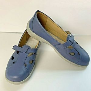 Hotter Nirvana Classic Shoe 11 Periwinkle Button